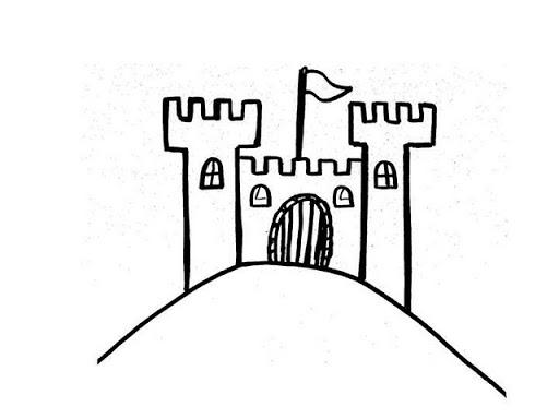 Imprimir castillo medieval