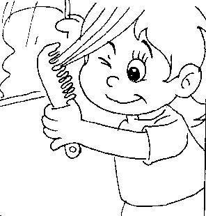 Habitos De Higiene Fichas Para Pintar Dibujos Para Pintar