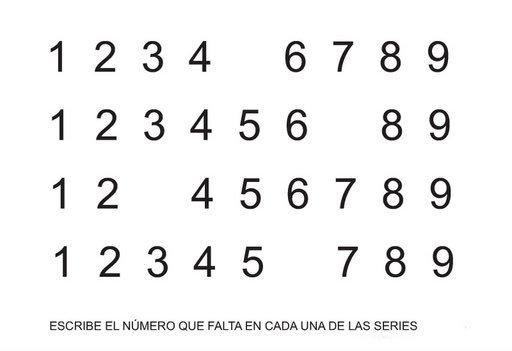 Serie de Números para niños