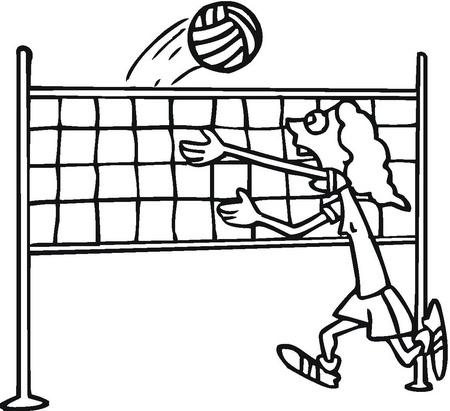 dibujos de voleiboll