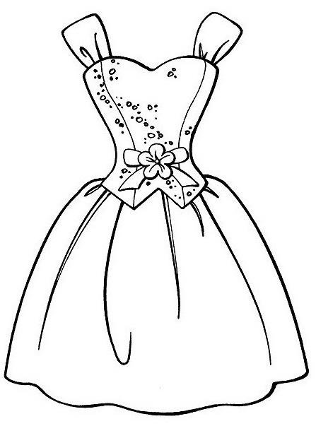 dibujos de vestidos