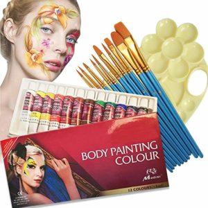 pintar caritas, pintura para la cara