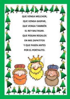 poesia reyes magos